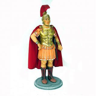 Ritter Römer mit rotem Cape Deko-Figur