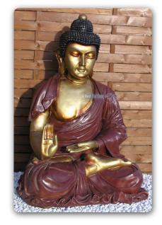 Buddha Buddhafigur Fígur Statue Aufstellfigur Deko