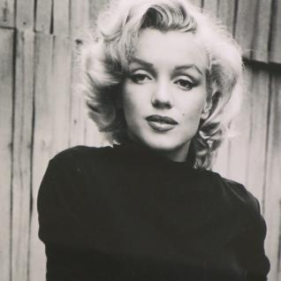 Marilyn Monroe Wandbild 1953 in Hollywood Kunstdruck Rahmen Deko 2
