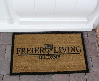Fußmatte Fußabtreter Kokosfaser im Home Design Impressionen Art Deco Türmatte - Vorschau 1