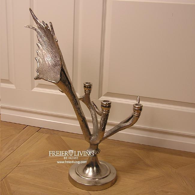 Hirschgeweih geweih kerzenst nder gro deko j ger jagd dekoration kaufen bei helga freier - Dekoration hirschgeweih ...