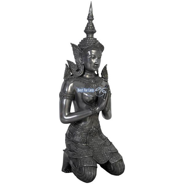 Thai Buddha Figur Statue Skulptur Deko Gartenfigur Dekoration Garten