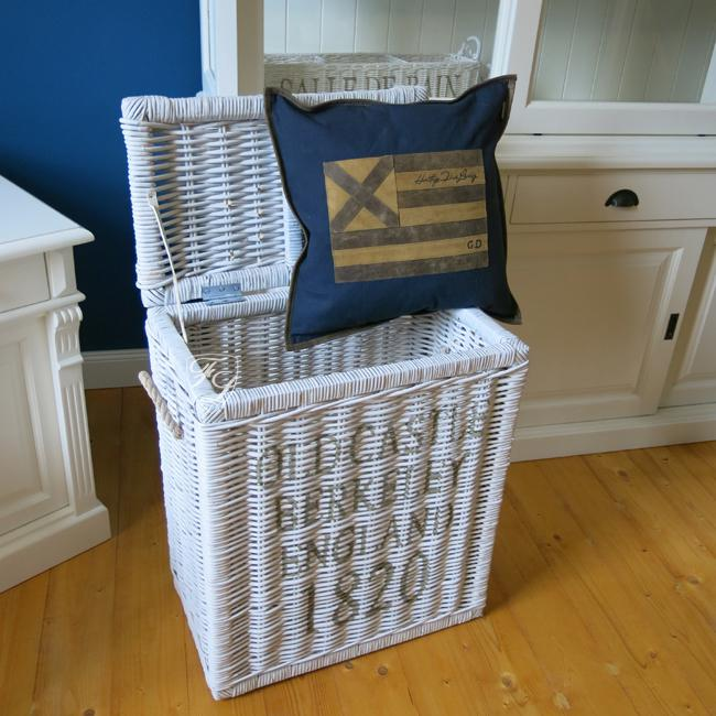 rattankorb w schekorb allzweckkorb korb 1820 wei. Black Bedroom Furniture Sets. Home Design Ideas