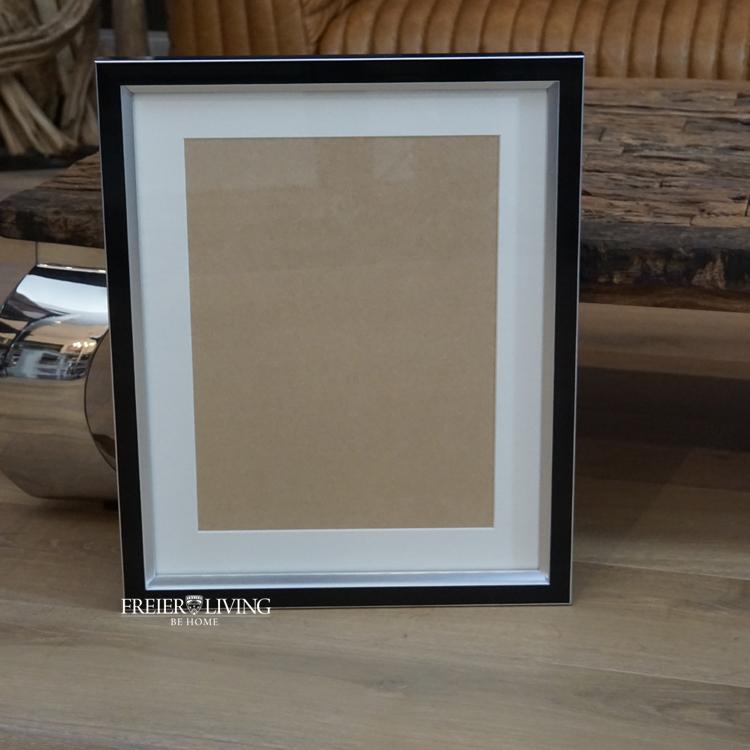 Holz schwarz Bilderrahmen als Wechselrahmen für Ihre Fotos 60 x 80 ...