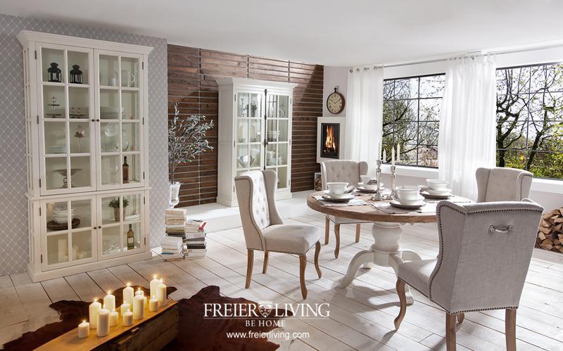 Chesterfild Sessel als Esszimmerstuhl Stuhl Maison Home Interieur ...