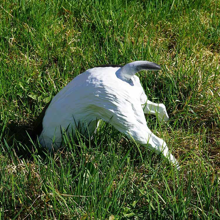 Buddelnder Hund Halber Hund Figur Garten Figur Deko Kaufen Bei