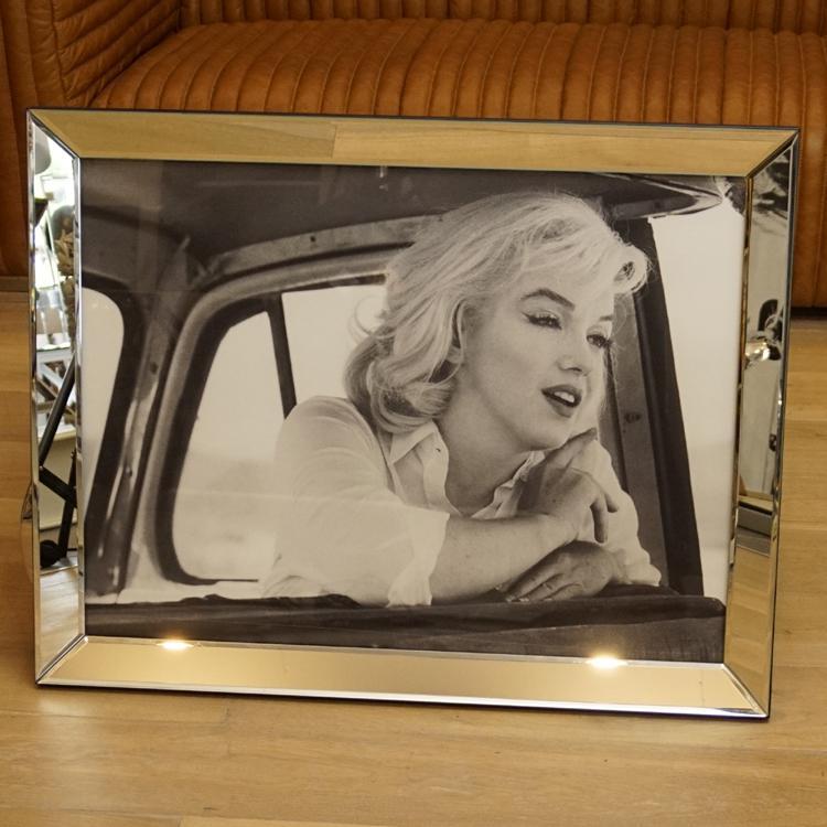 Marilyn Monroe Wandbild Spiegelrahmen Fotografie - Kaufen bei Helga ...