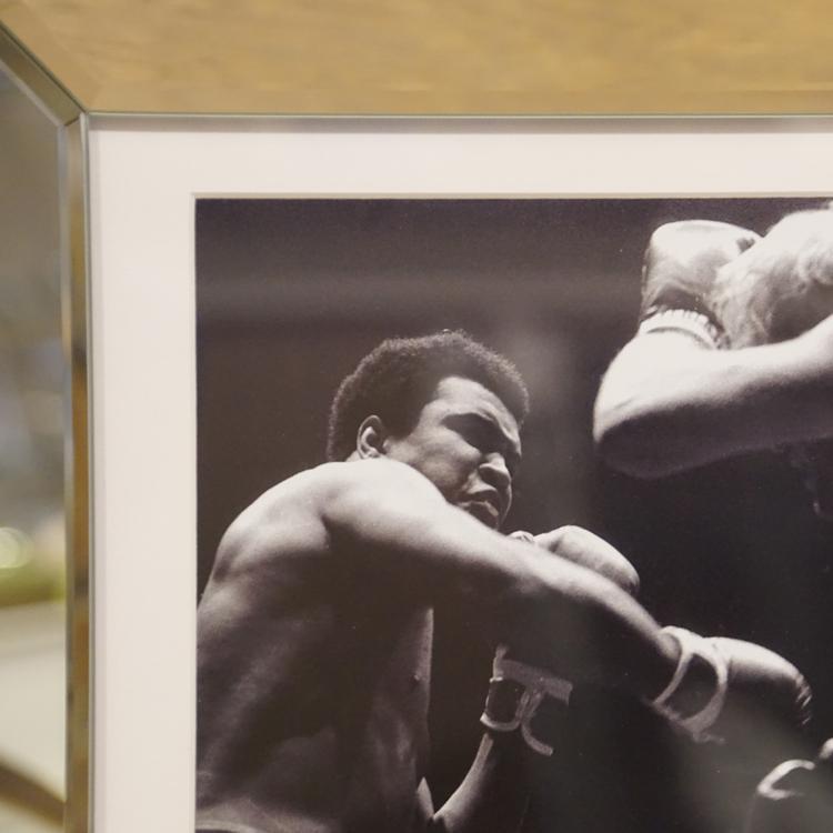 Boxer Muhammad Ali Spiegelrahmen Legende Nostalgie Rahmen Bar ...