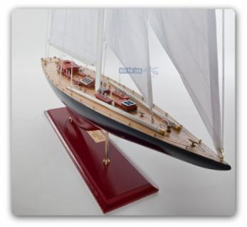 Endeavour Segelyacht Modell Standmodel Modellschiff Holz - Vorschau 2