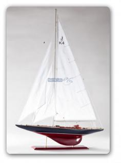 Endeavour Segelyacht Modell Standmodel Modellschiff Holz - Vorschau 1