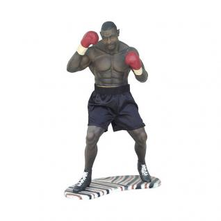 Boxer Figur Sportfigur als Aufstellfigur Boxring