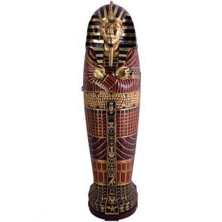 Ägyptischer Ägypten Sarkophag Schrank Möbel CD