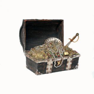 Antike Deko Truhe Maritim Dekoration für Piraten
