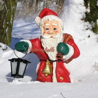 Weihnachtsmann als Weihnachts Dekofigur Figur