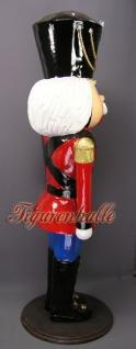 Nussknacker Weihnachtsmann Lebensgroß Figur Statue - Vorschau 3