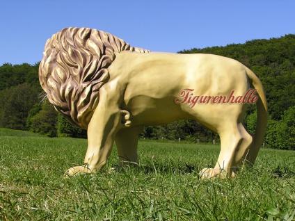 Löwe Dekofigur Afrikanischer Figur Statue Afrika - Vorschau 3