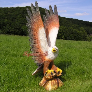 Adler Weißkopf Adler Dekofigur Figur Statue Deko
