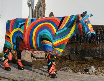 Riesen Kuh Kunstbemahlung Bunte lebensgroß Künstler - Vorschau 2
