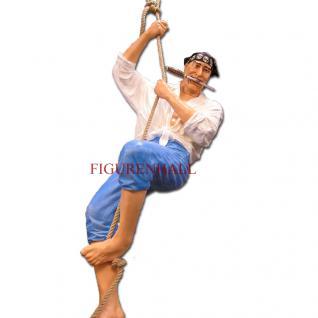 Pirat Seeräuber Hängend Dekofigur Figur Dekoration