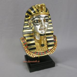 Pharao Tutanchamun Büste Figur
