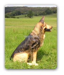 Schäferhund Dekofigur Lebensgroß Figur - Vorschau 4