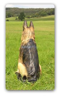 Schäferhund Dekofigur Lebensgroß Figur - Vorschau 2