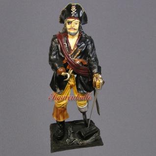 Seeräuber oder Pirat als Dekorationsfigur Figur