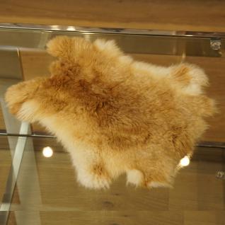 Kaninchenfell Dekoration Fell Deko hell braun