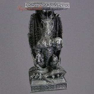 Drachen Drachentisch Wohnzimmertisch Couchtisch Beistelltisch Figur Statue