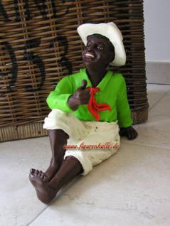 Afrika Junge als Black Boy zur Dekoration und Deko