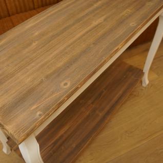 Konsolentisch Holz Shabby Chic Vintage Home Interiors - Vorschau 2