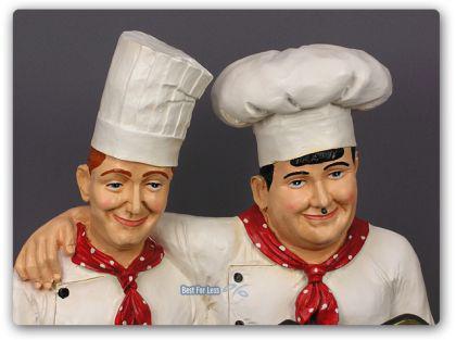 Dick und Doof als Koch Werbeaufsteller Werbefigur - Vorschau 3