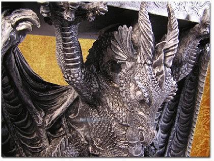 Drachen Tisch im Bord Style Figur Statue Möbel - Vorschau 2