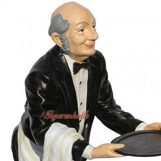Butler Opa James Dekofigur Diner Figur Aufsteller - Vorschau 3