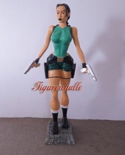 Lara Croft groß Tomb Raider Figur Statue Dekofigur