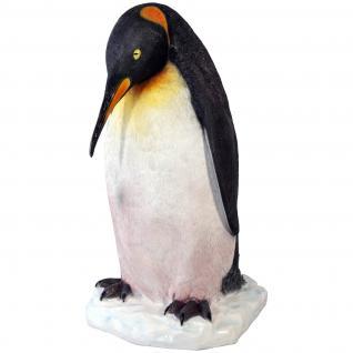Pinguin Werbefigur Figur Dekoration Lebensgroß