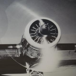 Wandbild Spiegelrahmen Flugzeug Nostalgie Druck Dakota DC-2 American Airlines - Vorschau 5