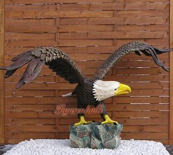 Weißkopf Adler Seeadler Figur Statue Aufstellfigur - Vorschau 2
