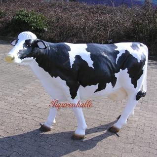 Kuh Lebensgroß als Dekofigur ohne Hörner