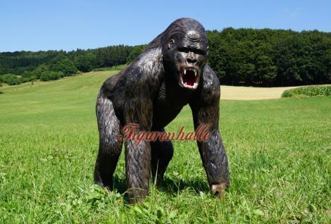 Gorilla Dekofigur Aufstellfigur Affe Afrika 130cm - Vorschau 2