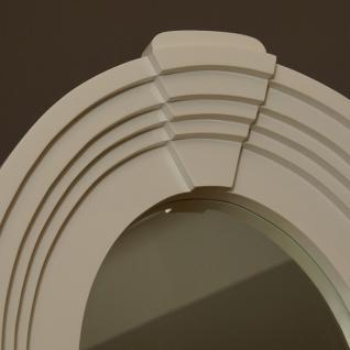 Wandspiegel Fensterspiegel weiß oval Landhausstil Home Interiors - Vorschau 3