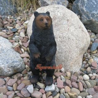 Grizzly Bär Braunbär Figur Statue Skulptur Deko