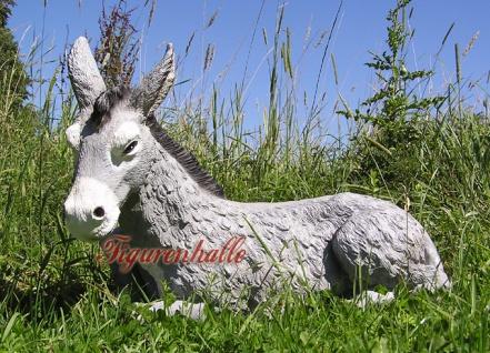 Esel Aufstellfigur für den Garten als Figur Statue - Vorschau 2