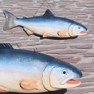 Regen Forelle Fisch Figur Dekoration Werbefigur Restaurant