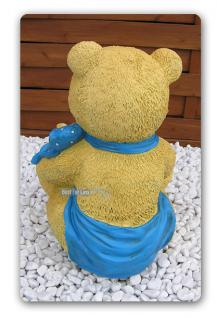 Teddy mit kind als Figur Kuschelbär Dekoration - Vorschau 2
