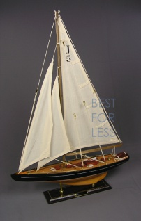 Selgelyacht Schiffsmodell Segelschiffmodel Modell - Vorschau 2