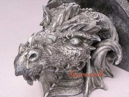 Drachenwandbord im Gothic Style Figur Statue - Vorschau 4