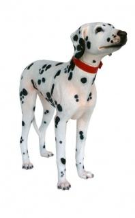 Billy Dalmatiner Hund Hunde Figur Statue Skulptur Gartenfigur
