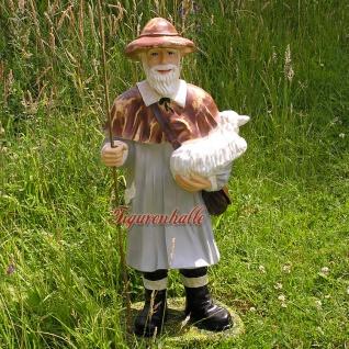 Schäfer Dekofigur Gartenfigur Statue Aufstellfigur