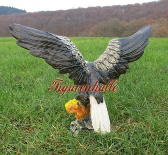 Adler Weißkopf Adler Dekofigur Figur Statue Deko - Vorschau 4